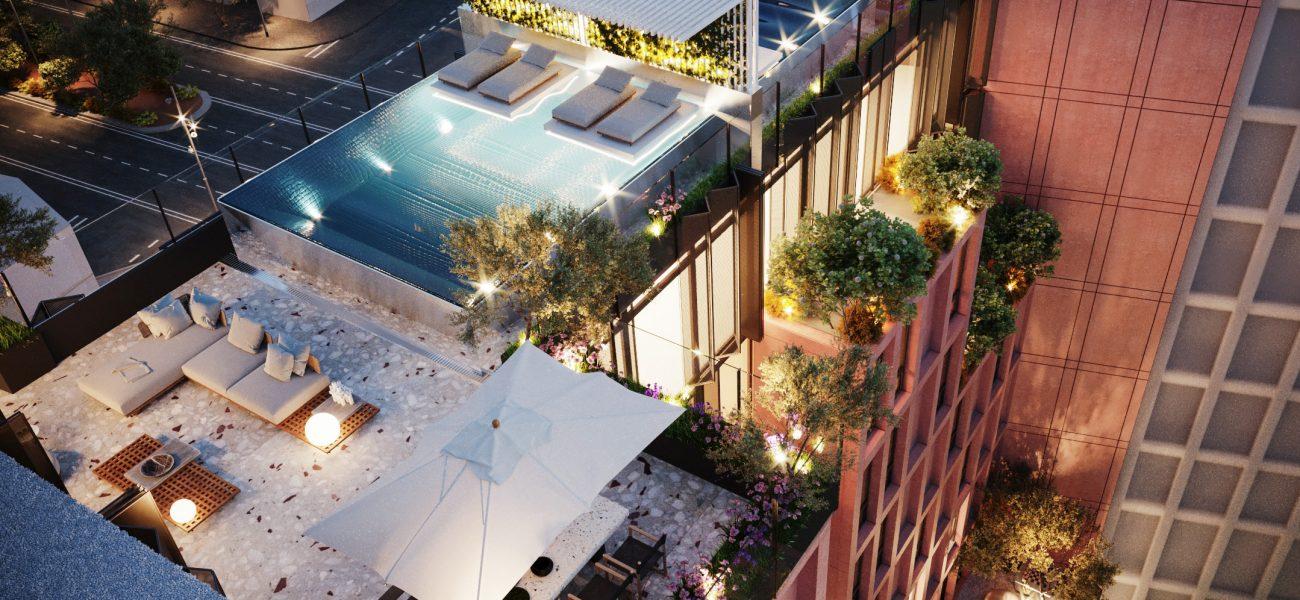 Penthouse luksoze në Tiranë